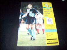Wycombe Wanderers v Hereford United, 1993/94